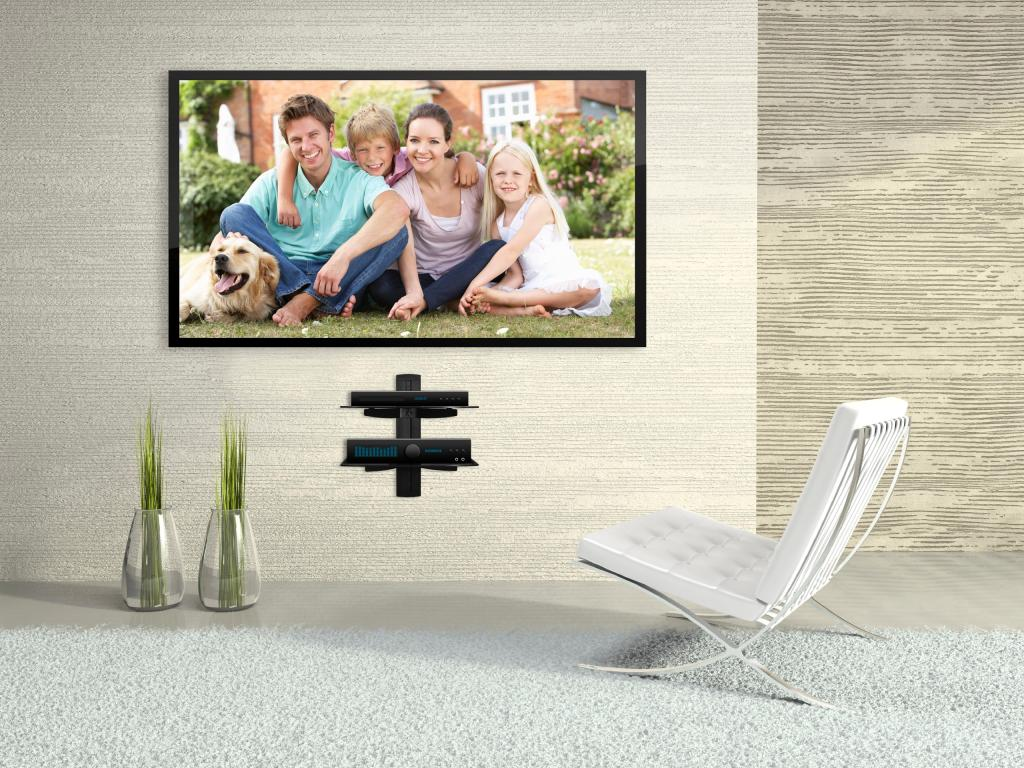 corner wall mount tv bracket with shelves Guide To Buy TV Wall Mount Brackets with Shelves